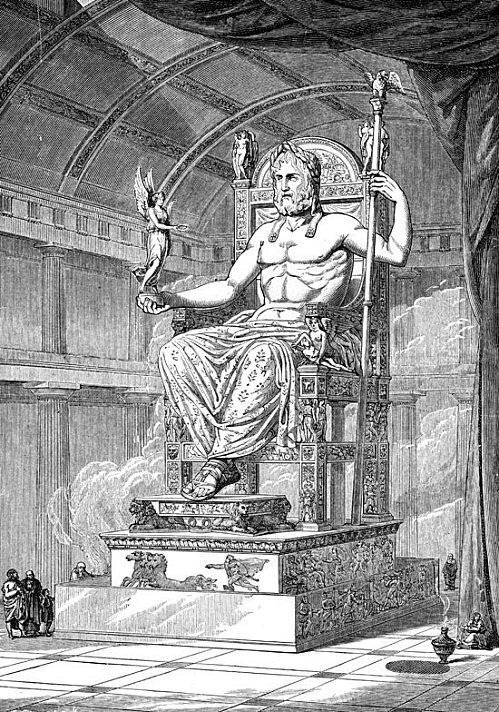INVESTIGACIÓN SOBRE EL 'BAPHOMET' Statue-de-Zeus(1)