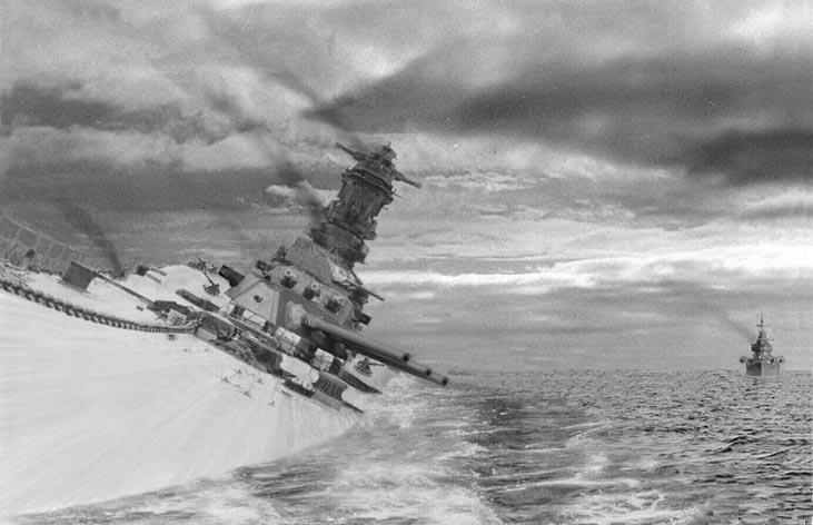 wreck of battleship musashi found